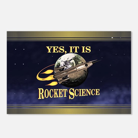 Yes, It Is Rocket Science Postcards (Package of 8)