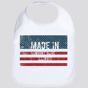 Made in Mount Olive, Illinois Baby Bib