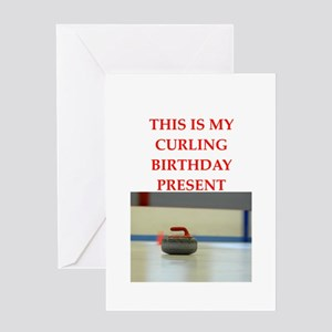 a birthday present Greeting Cards