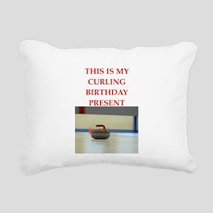 a birthday present Rectangular Canvas Pillow