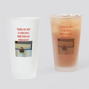 a birthday present Drinking Glass