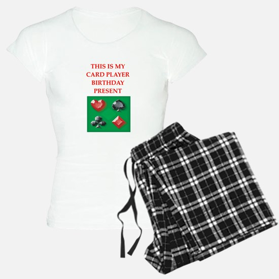card players Pajamas