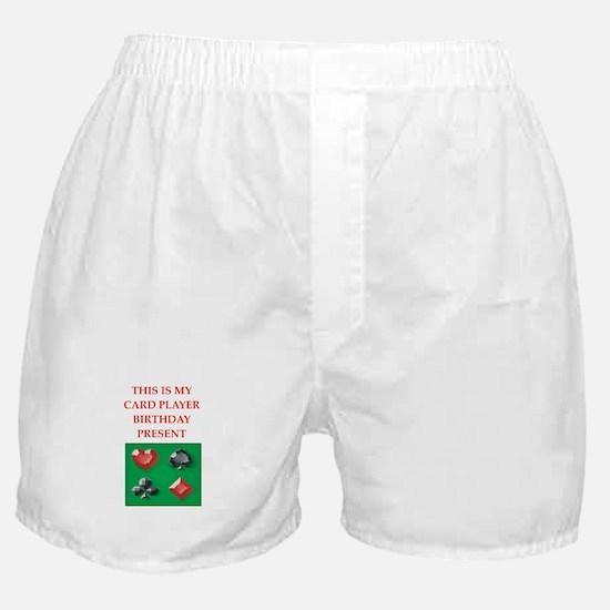 card players Boxer Shorts