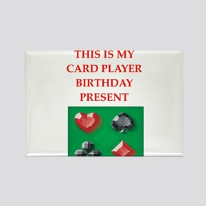 card players Magnets