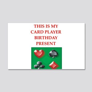 card players Wall Decal