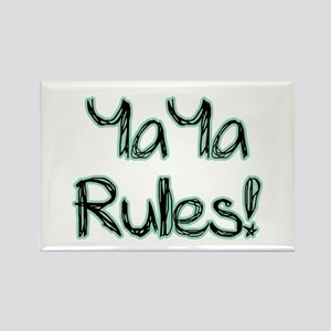 YaYa Rules! Rectangle Magnet