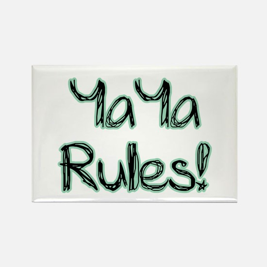 YaYa Rules! Rectangle Magnet