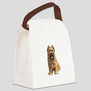 Briard A Canvas Lunch Bag