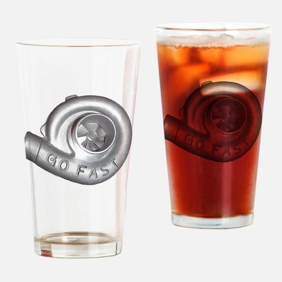 Unique Turbo Drinking Glass