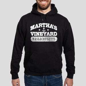 Martha's Vineyard Massachusetts Hoodie (dark)