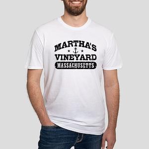 Martha's Vineyard Massachusetts Fitted T-Shirt