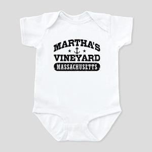 Martha's Vineyard Massachusetts Infant Bodysuit
