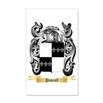 Pascall 35x21 Wall Decal