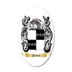 Pascal 35x21 Oval Wall Decal
