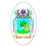 Parziale Sticker (Oval 10 pk)