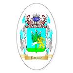 Parziale Sticker (Oval 50 pk)