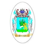 Parzaghi Sticker (Oval 50 pk)
