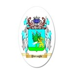 Parzaghi 35x21 Oval Wall Decal