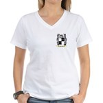 Paruetot Women's V-Neck T-Shirt