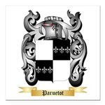 Paruetot Square Car Magnet 3