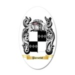 Paruetot 35x21 Oval Wall Decal