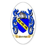 Partridge Sticker (Oval 50 pk)