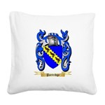 Partridge Square Canvas Pillow