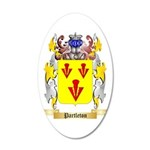 Partleton 35x21 Oval Wall Decal