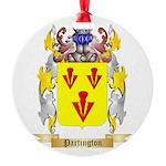 Partington Round Ornament