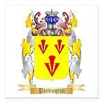Partington Square Car Magnet 3