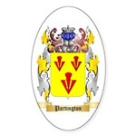Partington Sticker (Oval 10 pk)