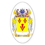 Partington Sticker (Oval 50 pk)