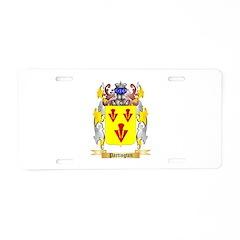 Partington Aluminum License Plate