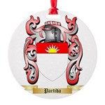 Partida Round Ornament