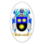 Parsons Sticker (Oval 10 pk)