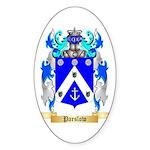 Parslow Sticker (Oval 50 pk)