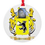 Parrucci Round Ornament