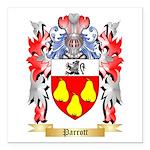 Parrott Square Car Magnet 3