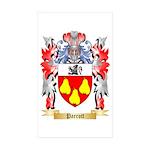 Parrott Sticker (Rectangle 50 pk)