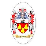 Parrott Sticker (Oval 10 pk)