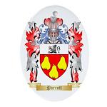 Parrott Oval Ornament