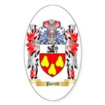 Parritt Sticker (Oval 50 pk)