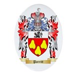 Parritt Oval Ornament