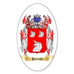 Parrish Sticker (Oval 50 pk)