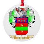 Parris Round Ornament