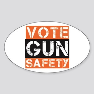 VOTE GUN SAFETY Sticker
