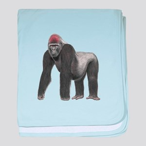 SILVERBACK baby blanket
