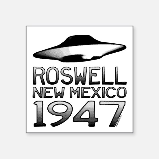 Roswell UFO 1947 Sticker