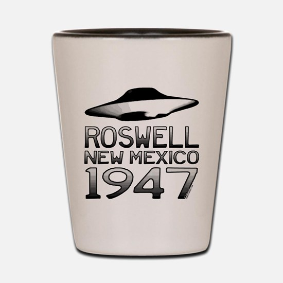 Roswell UFO 1947 Shot Glass
