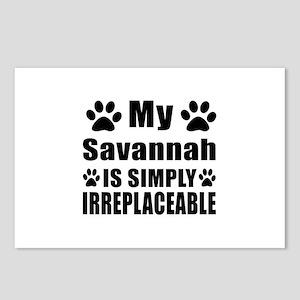 My Savannah cat is simply Postcards (Package of 8)